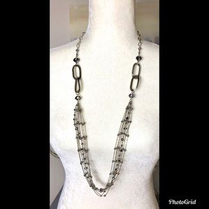 Jewelry - Beautiful Multi-strand Beaded Long Necklace